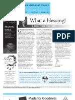 Newsletter - December 9, 2011