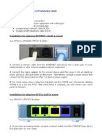Pap2t Alarm Installation&Provisioningguide