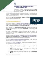 Fundelec - Gacetilla Nº 109 Noviembre 2011