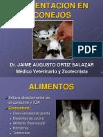 11. Alimentacion en Conejos