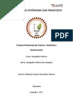 Geografía Política de Arequipa - WilfredoEscalanteOtárola