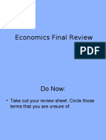 Economics Final Review PPT