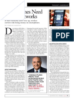 Tellabs Inspire Magazine - Smartphones Need Smart Networks