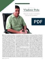 Entrevista Vladimir Peña