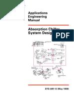 Absorption Chiller Sytem Design