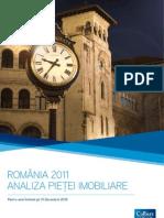Colliers Raport de Piata Romania RO 2011