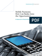 Mobile Payments How Can Banks Seize the Opportunity