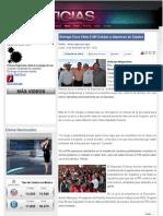 14-12-11 Entrega Cano Vélez 3 Mil Cobijas y depensas en Cajeme