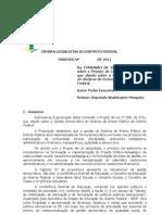 Gestão Democrática SEDF - parecer_pl_588-2011