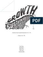 Sustainability Group F