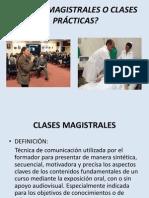 Clases Magistrales o Clases Pr Cticas