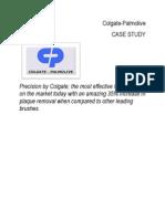 Colgate Palmolive Case Study