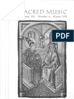 Sacred Music, 105.4, Winter 1978; The Journal of the Church Music Association of America