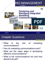 Chapter 15 Designing and Managing Integrated Marketing Communications