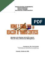Normas y Estilos Para La Redacción de Trabajos Científicos