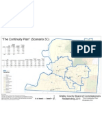 Shelby Districts Continuity Plan Scenario 3C Map