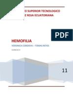 HEMOFILIA PRESENTACION