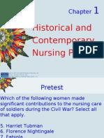 KOZIER-Chapter 1 Outline-Historical Contemporary Nursing Practice
