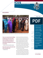 Sudan SK-BN Policy Focus-US Commi Ss i on on I Nte r Nat i Onal R e l Ig Ious F r e e Dom