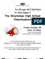 Minuteman Cheerleaders