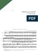 Laonikos - Atlantis in a Nutshell (Score)