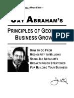 Jay Abraham - Principles of Geometric Business Growth