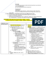 Civpro Outline Chart Format