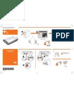 HP Scanjet G3010 Wordless Setup Poster