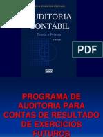 13_Programas de Auditoria para Contas de Resultado de Exercício