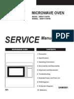 Schema Cuptor Microunde Samsung