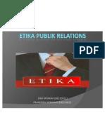 Etika Publik Relations