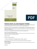 Antonio Azorin - Jose Martinez Ruiz