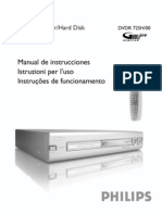 Philips DVD Recorder Dvdr725h