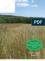 2006 - 2008 Maryland Environmental Trust Annual Report