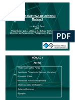 Herramientas de Gestion Modulo II