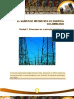 El Mercado Mayorista de Energia Colombiano