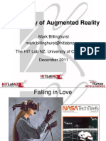 The Reality of Augmented Reality Mark Billinghurst