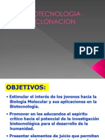 BIOTECNOLOGIA-CLONACION