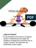TIPOS DE FUERZA