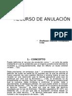 Dr_gaston Fernandezrecurso de Anulacion (Nueva Ley de Arbitraje)[1]