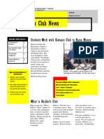Builders Club Newsletter Web