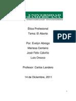 Ética Profesional