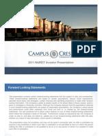 Campus Crest Group - Nareit Reit Week 2011 Investor Presentation