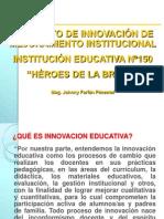 Expo Sic Ion Proyectos de Innovacion INSTITUCIONAL