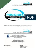 Plan Comercial (Posicionarte Public Id Ad y Eventos, c.a.)
