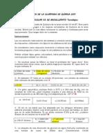 OLIMPIADA DE QUÍMICA 2011- examen