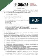 Seletivo Senai Rg Saoluis Edital 045 2011