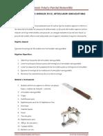 N° 5 Prótesis Total y Parcial Removible - Montaje de modelos en Articulador