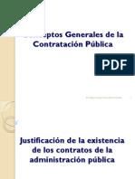 Conceptos Generales de Las Contrataciones Del Estado