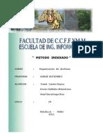 Organizacion de Archivos- Indexado
